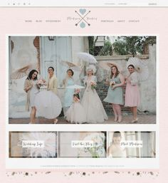 New Orleans Wedding from Amy Carroll Photography Creative Web Design, Blog Design, Photographer Branding, New Orleans Wedding, Wedding Bridesmaid Dresses, Bridesmaids, Photography Website, Wedding Website, Event Styling
