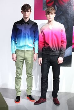 Jonathan Saunders Menswear Ombre Jacket