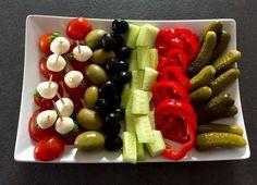 Food Design, Mozzarella, Asparagus, Salad Recipes, Tapas, Catering, Sushi, Grilling, Food And Drink