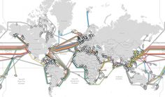 What links the global Internet? Wires inside tubes no bigger than a garden hose. | Public Radio International