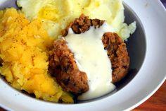 Delicious vegan haggis recipe from coriandercooks.com