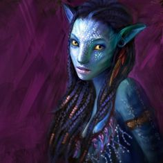 Zoe Saldana as Neytiri, the daughter of the leader of the Omaticaya (the Na'vi clan central to the story). She is attracted to Jake because of his bravery, though frustrated with him for what she sees as his naiveté and stupidity. She serves as Jake's love interest.[47] The character, like all the Na'vi, was created using performance capture, and its visual aspect is entirely computer generated.[48] Saldana has also signed on for potential sequels.