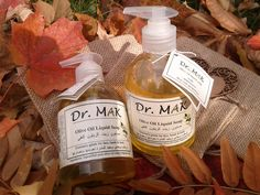 Dr MAK All Natural Liquid Soap Handmade from saponified olive oil, water and lemon essential oil. Extremely gentle for face, hands and body. Best for dry and sensitive skin, including children's skin. Men can use it as hair shampoo.