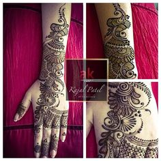 Henna Beautiful by Ash Kumar Executive Artist/Educator Kajal Mehndi Designs 2018, Mehndi Designs For Girls, Stylish Mehndi Designs, Dulhan Mehndi Designs, Wedding Mehndi Designs, Henna Designs Easy, Beautiful Mehndi Design, Mehandi Designs, Heena Design
