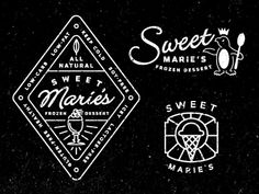 Sweetmaries logos  by Keith Davis Young