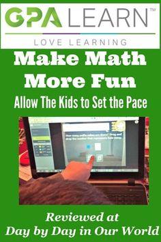 Make Math More Fun with GPA Learn