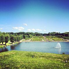 Garden of Frederiksborg Castle.