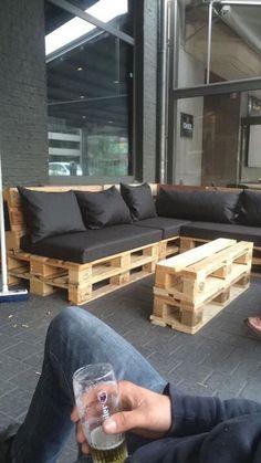 Bistro botanique - pallet lounge