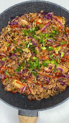 Vegan Meal Prep, Vegan Dinner Recipes, Vegan Dinners, Veggie Recipes, Whole Food Recipes, Vegan Foods, Vegan Vegetarian, Vegetarian Recipes, Healthy Recipes