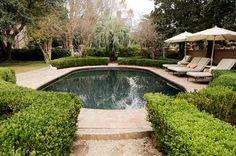 Patricia AltschulWe wouldn't mind taking a dip in this pool!
