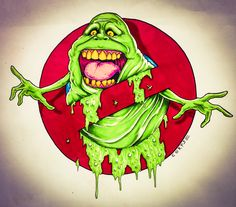 Slimer art from my grubby little mind! I drew this for a tattoo, if someone is interested feel free to contact me. Drawing Fur, How To Draw Fur, State Tattoos, Ghost Busters, Beetlejuice, Various Artists, T Rex, Atlantis, All Art