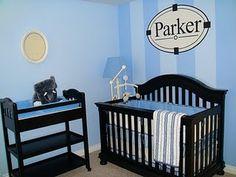 Ideas - Cuarto del bebé IV - Niño // Baby Boy Room #decoracion #bebe #ideas