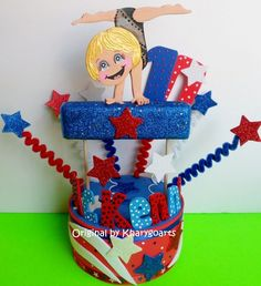 Our custom girl gymnastic cake toppers are all hand made and hand painted just for you at the time you order - This is a CAREFULLY FULLY HAND CRAFTED Custom Custom Cake Toppers, Custom Cakes, Bmx Cake, Gymnastics Birthday, Birthday Cake Toppers, Birthday Cakes, Party Centerpieces, Cake Toppings, Birthday Party Themes