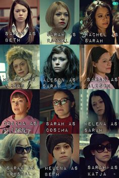 Orphan Black (BBCAmerica):  The Brilliant actress Tatiana Maslany plays erreybody! (Clone Club)