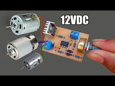 How to make Controller Motor Speed Circuit at home -JLCPCB Electronic Circuit Design, Electronic Engineering, Electronics Basics, Electronics Projects, Electrical Circuit Diagram, Hinge And Bracket, Diy Generator, Electronic Schematics, Electrical Projects