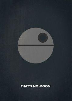 Star Wars: Death Star poster by Keith Bogan