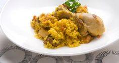 Receta de Paella de carne