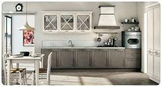 Arredamenti House Design:   CUCINA mod. VIVIAN - Anta in massello di abete S...