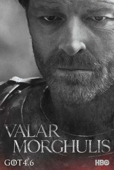 "Jorah Mormont | Community Post: These New ""Game Of Thrones"" Posters Will Give You A Sense Of Foreboding"
