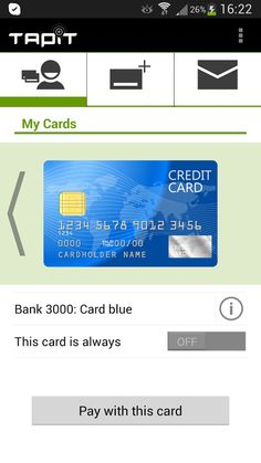 Tapit NFC wallet from Swisscom