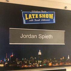 Jordan Spieth Does The Late Show