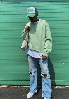 Indie Fashion Men, Indie Men, Streetwear Fashion, Mens Style Streetwear, Skate Fashion, Skateboard Fashion, Fashion Fashion, Spring Fashion, Fashion Ideas