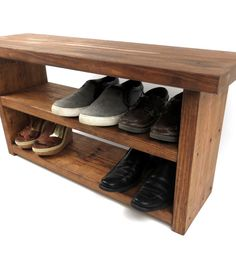 Entryway Storage Bench, Entryway Bench, Entry Bench, Farmhouse Bench, Rustic Bench, Benches, Primitive Storage Bench, Shoe Storage Bench