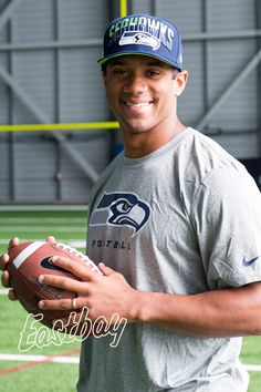 Russell Wilson - Photographed by Heidi Garski Hammer at the Virginia Mason Athletic Center, Renton WA - April 2013