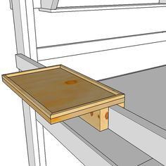 It's really difficult to find a six foot tall night stand to hold your telephone, alarm clock, and other items beside your loft bed. This easy to build shelf simply fits over the guard rail of your OP Loftbed loft bed or bunk bed and can be easily slid to any position. It's also easy …