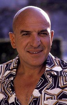 Telly Savalas // BornAristotelis Savalas  January 21, 1922  Garden City, New York, U.S.  DiedJanuary 22, 1994 (aged 72) of bladder and prostate cancer in  Universal City, California, U.S.