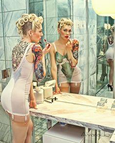 woman tattoos