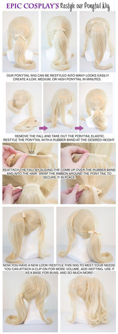 Ponytail tutorial