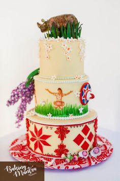 Tina Scott Parashar's Incredible India Cake Collaboration - cake by Baking Mantra Easy Pasta Recipes, Soup Recipes, India Cakes, Cupcake Cookies, Cupcakes, Food Artists, Buttery Biscuits, Incredible India, Cake Art