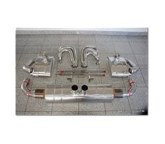 996 - 997 GT3 - Cup Rennsportauspuff Edelstahl