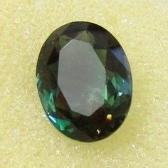 CERT 8.85ct Teal BLUE/Green Dichroic OREGON SUNSTONE