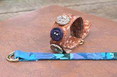 Fabric Bracelet Tutorial by Cheryl Bosarge