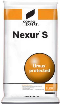 Nexur®  S 38-0-0 Λίπασμα ουρίας και θειϊκής αμμωνίας 38-0-0 με τεχνολογία παρεμποδιστή ουρεάσης, LIMUS® (NBPT και NPPT). ΣΥΝΘΕΣΗ 38% N (31% ουρικό και 7% αμμωνιακό), 19% τριοξείδιο του θείου υδατοδιαλυτό. ΔΟΣΟΛΟΓΙΑ 20-40 kg / στρέμ. / εφαρμογή Base