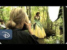 Dream Portraits by Annie Leibovitz with Jennifer Hudson as Tiana | Disney Parks