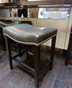 Hickory Chair Madigan backless stool in Kitchen of the Year