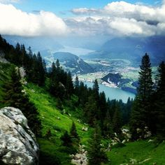 "Mt. Pilatus day trip from Zurich. This pictures makes me think nothing but ""The hills are aliiiiiiiiiiiiiive...."""