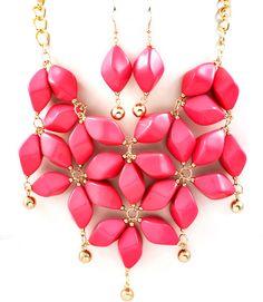 Fabulous Floral Necklace