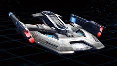STAR TREK -  RAPIER_class_escort_destroyer.
