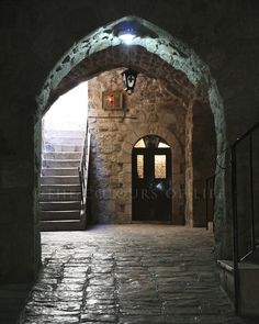Lights in the dark - Old City of Jerusalem