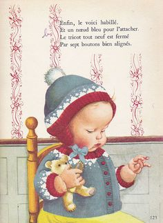 What a darling baby - Eloise Wilkin was an amazing illustrator!