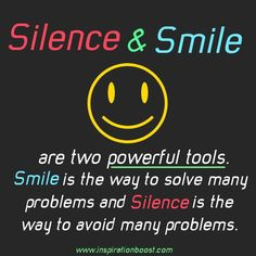 #Powerful #Smile #Silence