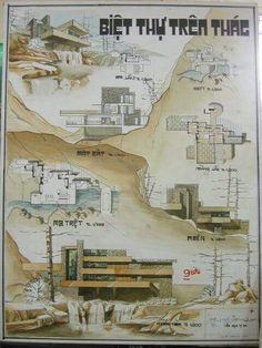 Resultado de imagen de đồ án diễn hoạ kiến trúc đồ án cơ sở 2