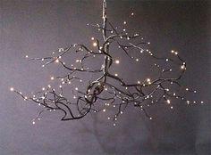 LOVE, LOVE, LOVE this Bodner woodland chandelier!!!