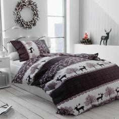 vanocni 20181018 jeleniHnedi Comforters, Blanket, Bed, Retro, Furniture, Design, Home Decor, Products, Creature Comforts