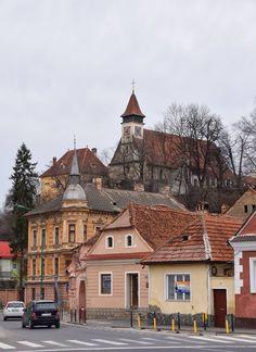 Brasov Buildings #Romania #Travel #Europe #cities #Beautiful #OldTown #ThingsToDo #architecture
