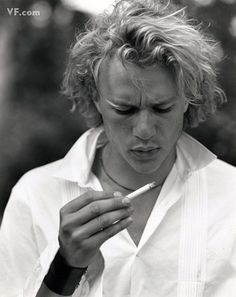 Heath Ledger photographed by Bruce Weber for Vanity Fair, August 2000